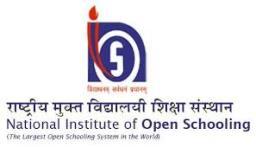 National Institute of Open School Oct-2018 Hall Tickets
