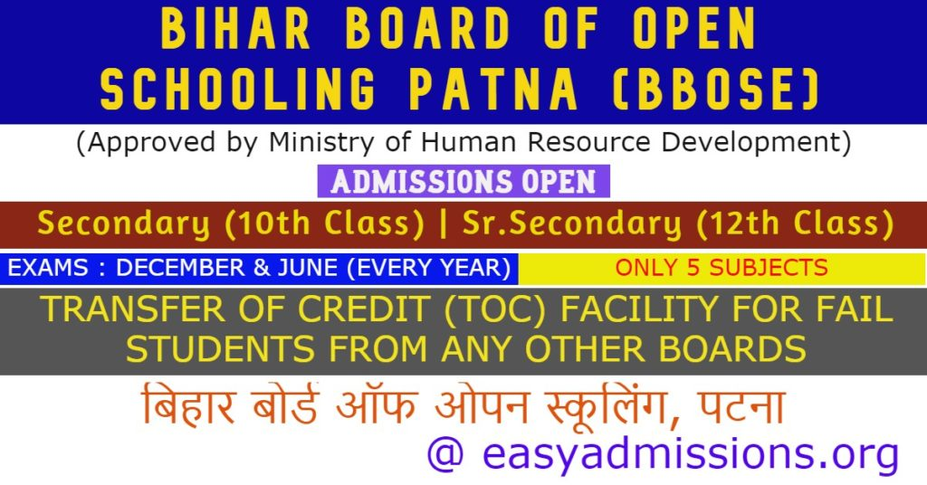 Bihar-board-of-Open-Schooling-Patna
