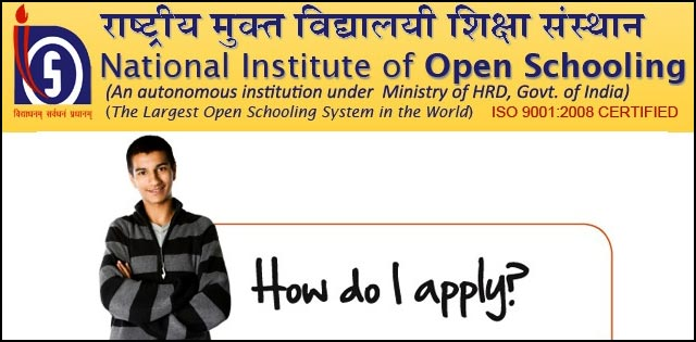 NIOS 10th & 12th Class Admission