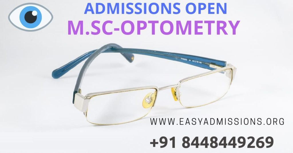 msc optometry course