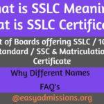 sslc meaning sslc certificate