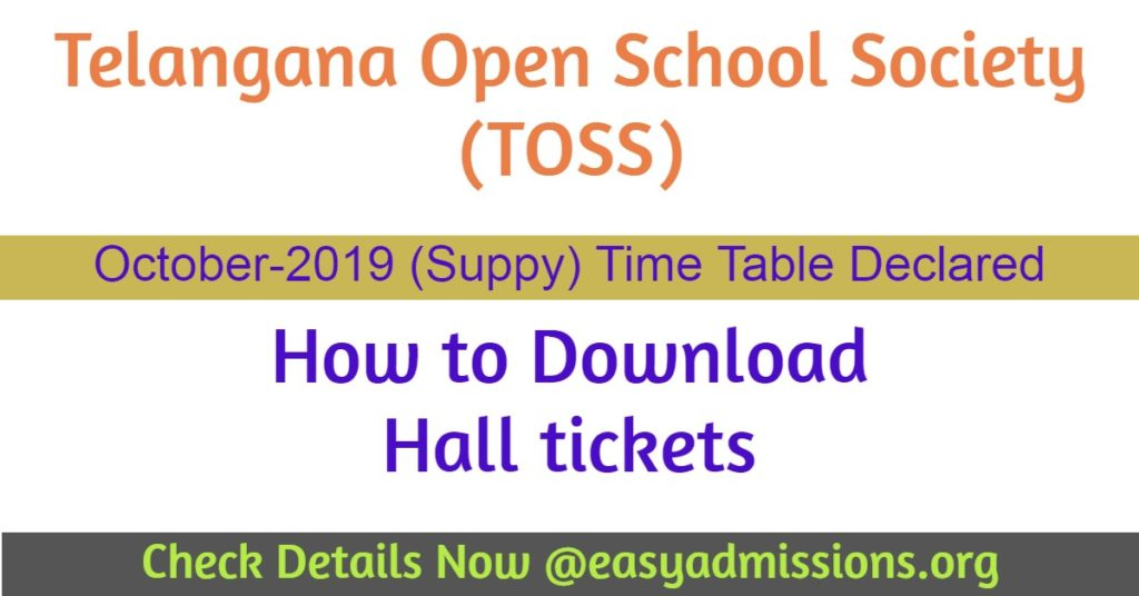 telangana open school october 2019