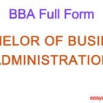 BBA Full Form