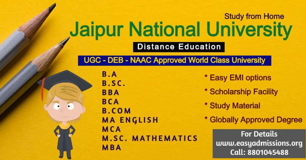 Jaipur National University, Distance Education, Bachelor of Commerce