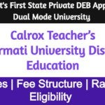 Sabarmati University Distance Education