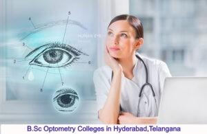 BSc Optometry Colleges in Hyderabad
