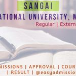 Sangai International University Manipur