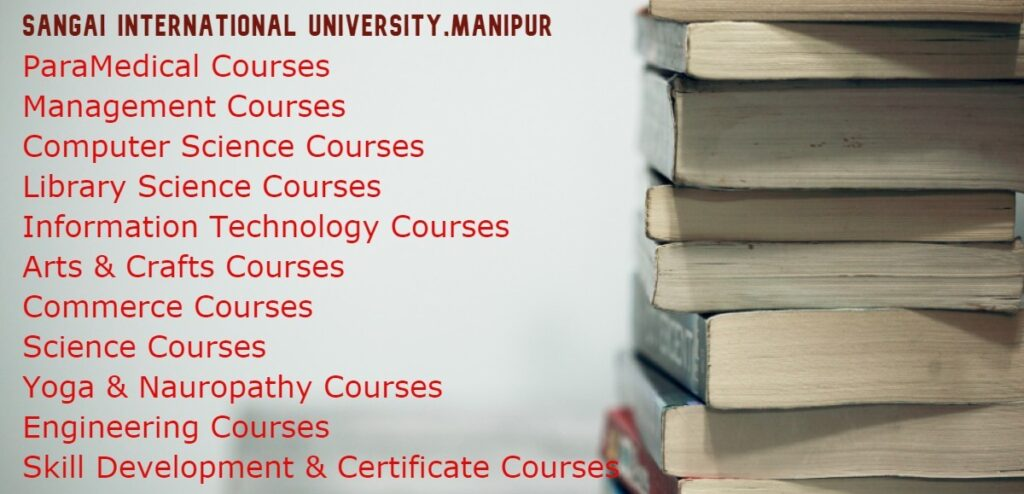 Sangai International University Courses