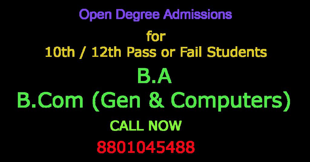 Open Degree