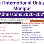 Sangai International University Admissions-2020-2021