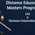 Distance Education Masters Programs