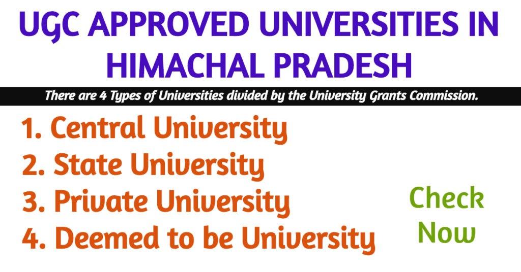 UGC APPROVED UNIVERSITY IN HIMACHAL PRADESH