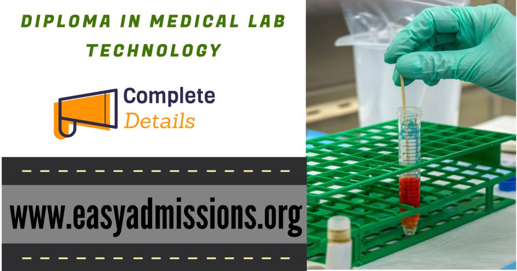 DMLT Full Form, Course Details, Syllabus, Admission 8801045488