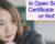 Is Open School Certificate Valid or Not?