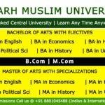 Aligarh Muslim University Online Courses