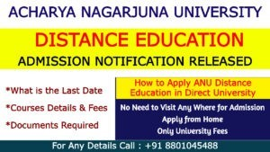 How to Apply Open Degree Admission in ANU Distance Education
